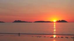 puesta sol samil