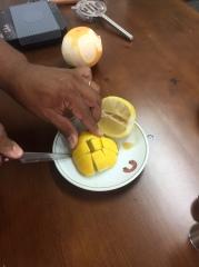 Cortar Limón