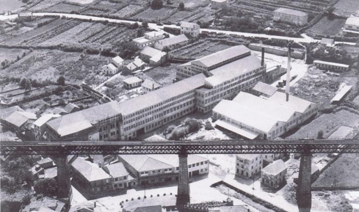 Vista Aérea de la Factoría de Regojo